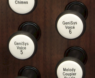 GeniSys Voices drawknob